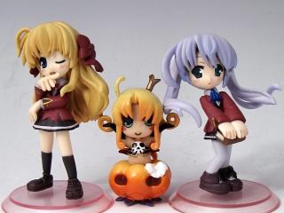 サイズ比較用かぼちゃ